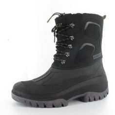 ANDORA MENS WINTER BOOT BLACK