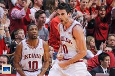 IU's win over No. 3 Wisconsin. Go Hoosiers! #IUCollegeBasketball