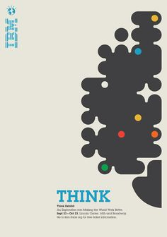 IBM - Think.  Unknown author.