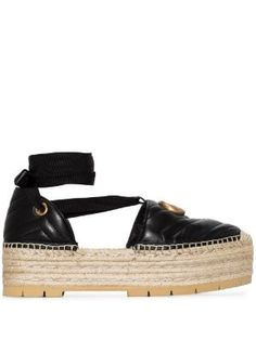 New In this week for Women 2019 - Farfetch Leather Sandals Flat, Leather Espadrilles, Leather Ankle Boots, Suede Boots, Leather Sneakers, Castaner Espadrilles, Burberry, Gucci, Pearl Sandals