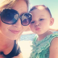 Emilia has perfected the pout!  #mommydaughter #capri #pout #toddlerselfie #emiliatommasina