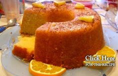 You can make this sweet, delicious and moist Portuguese orange cake in about 50 minutes, enjoy it.