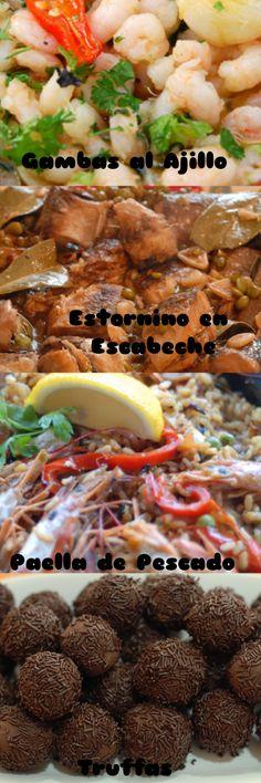 Spanish Fiesta Menu – Christmas in Spain – Menu Idea Christmas In Spain, Spanish Christmas, Spanish Food, Ethnic, Cooking Recipes, Xmas, Life, Spanish Dishes