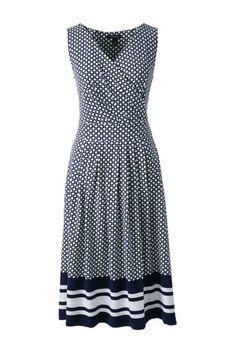 Women's Sleeveless Woven A-line Dress from Lands' End