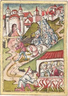 Meisterlin, Sigismundus: Augsburger Chronik Augsburg, 1479 - 1481 Cgm 213 Folio 288