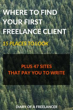 Finding Your First Freelance Client: 15 Places To Look