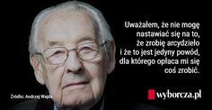 Niepublikowana rozmowa z Andrzejem Wajdą z 2013 roku.