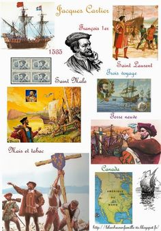 Le bonheur en famille: Les explorateurs, Jacques Cartier...