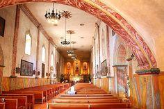 Beautiful-- Mission Santa Barabara, innen by TravelPod member Tiszrh, from Santa Barbara, United States