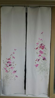 Fabric Painting, Ladder Decor, Embroidery, House, Home Decor, Blinds, Bias Tape, Painting On Fabric, Needlepoint