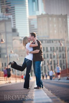 Downtown Minneapolis engagement photography