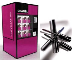 Chanel mascara now sold in vending machines at Selfridges