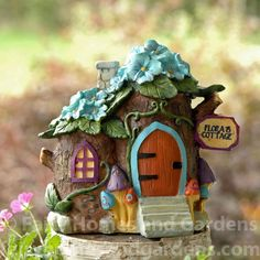 Fairy Homes and Gardens - Flora's Fairytale Cottage, $17.85 (https://www.fairyhomesandgardens.com/floras-fairytale-cottage/)