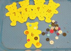 Bear themed prechool Math, Literacy, Sensory, Fine Motor activities inspired by the book, Corduroy. Corduroy Activities, Bear Activities Preschool, Bear Theme Preschool, Eyfs Activities, Preschool Activities, Teddy Bear Crafts, Teddy Bear Day, Teddy Bears, 3 Bears