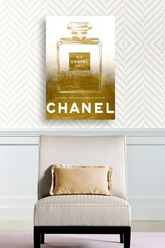 Oliver Gal Exclusive The Most Treasured Scent Canvas Wall Art details Luxury Interior, Interior Design, Fashion Wall Art, Oliver Gal, House Rooms, Room Inspiration, Canvas Wall Art, Bed Pillows, House Design