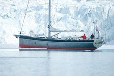 Bestevaer 55ST Albatros / K Yachtbuilders Sailing Charters, Sailing Dinghy, Sailing Ships, Sailing Yachts, Wooden Boat Kits, Wooden Boat Plans, Aluminum Boat Kits, Pilothouse Boat, Explorer Yacht