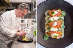Ponsaty's Brings Master French Fare to Rancho Santa Fe Baby Eggplant, Scottish Salmon, San Diego Restaurants, Chow Chow, Fresh Rolls, Sushi, Ethnic Recipes, Food, Essen
