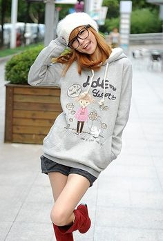 Kawaii Clothing | Sudadera Muñeca / Doll Hoodie 2WH264 | Online Store Powered by Storenvy