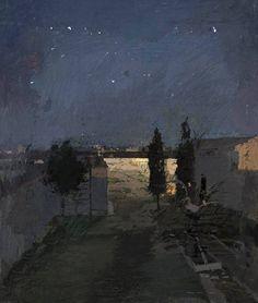 Antonio López García - Garden at Night - 2008 https://scontent-yyz1-1.xx.fbcdn.net/v/t1.0-9/13239047_486562481552713_1703187339234702829_n.jpg?oh=3a822dd340df86a95eca419b5096e568&oe=57A4EA4C