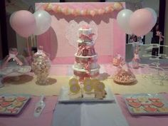 Very Cute Candy Station - the Nappy Cake is also nice as a center piece