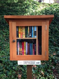 Yet another new Little Free Library opens its door to readers
