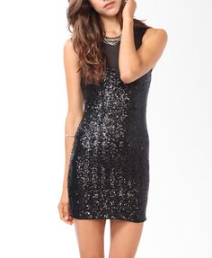 Sequined Sweetheart Mesh Dress | FOREVER21 - 2019572022    Loving this dress. Perfect for a night out on the town