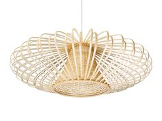 KOUBOO 1050077 Handwoven Bamboori Discus Pendant Lamp 18 x 18 x 15 Natural Brown >>> You can find out more details at the link of the image.-It is an affiliate link to Amazon. #DiningRoomLighting