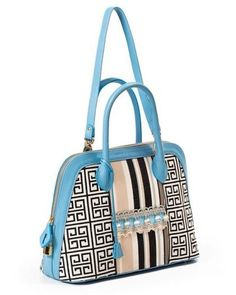 Buboisé Royal Ocean - S/S 2015   #handbag #shoulderbag #bag #buboisé #buboisébag #madeinitaly #handcrafted #blue #luxury #leather #borsa #artigianale #qualità