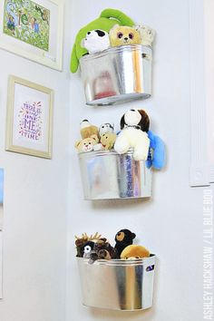 Toy Organization Ideas from MichaelsMakers Lil Blue Boo