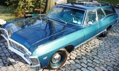 Station Wagon Finder scours the internet to find the best classic Chevrolet station wagons available. Station Wagons For Sale, Station Wagon Cars, 1967 Chevy Impala, Bone Stock, Classic Chevrolet, Classy Cars, Barn Finds, Amazing Cars, Dream Cars