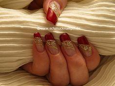 Nail art motivo 269 - Tattoos de flores para decorar las uñas - http://www.schmucknaegel.de/