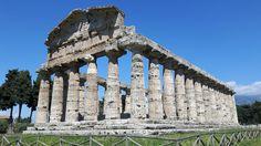 Tempio di Atena-detto di Cerere.  Fine VI sec a.C.  Paestum