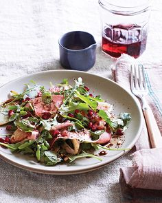 Sweet Paul: Fennel, Prosciutto & Pomegranate Salad with Coffee Balsamic Recipe