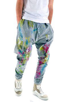 Pantaloni handmade pentru barbati B3253X, marca Different Cut