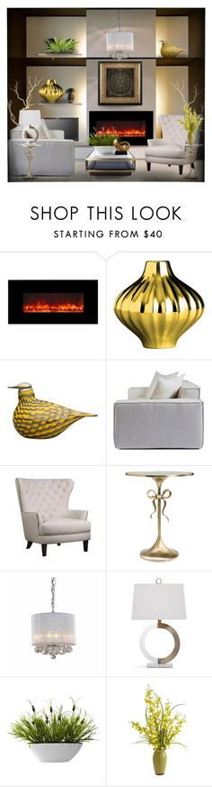 """""""Cozy by the Fire!"""" by eco-art ❤ liked on Polyvore featuring interior, interiors, interior design, home, home decor, interior decorating, Yosemite Home Décor, Jonathan Adler, iittala and Jofran"""