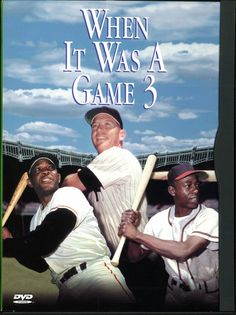 When It Was A Game 3 DVD (2000) Mickey Mantle Willie Mays Hank Aaron Tom Seaver