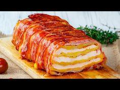 Megnyalod az összes ujjad! Ez a recept alapján készíts császárhúsos krumplit  Ízletes TV - YouTube Bacon, Lchf, Pork, Dita, Chicken Cake, Sausages, Easy Food Recipes, New Recipes, Entrees