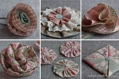 Flower mood - Evening gatherings. How to make embellishment flowers for your projects.