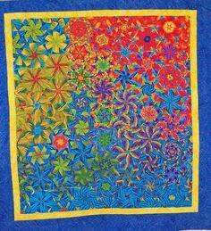 One Block Wonder 2 Quilt by joycehughes, via Flickr