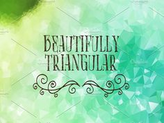 20 Abstract Triangular Backgrounds by Dragoș Neagu on @creativemarket