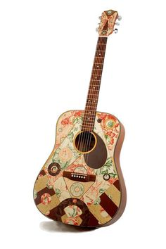 Around the Grounds - Modified Acoustic Guitar by Artful Musician