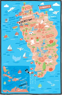 Illustrated Jogging Route Map Of Venice Beach By Nate Padavick - Venice beach map