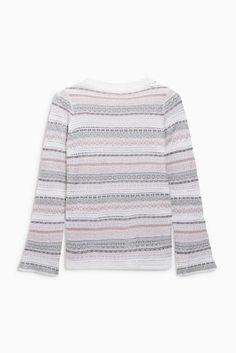 Fashion Inspired Sweater Hermione Grey · Fairisle Pattern Granger CwUqURT