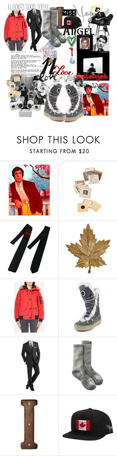 """Rare Soul"" by lerp ❤ liked on Polyvore featuring Doppelganger, Jacques Fath, Canada Goose, Santana Canada, International, L.L.Bean, Pier 1 Imports, Billabong, men's fashion and menswear"
