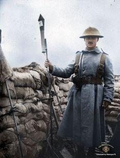 La Primera Guerra Mundial, a todo color (FOTOS)                                                                                                                                                                                 Más