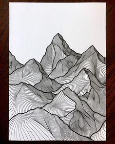 Ideas For Tattoo Ideas Drawings Sketches Sketchbooks Doodle Art Drawing, Zentangle Drawings, Art Drawings, Wave Drawing, Texture Drawing, Zentangle Patterns, Arte Bar, Pen Art, Geometric Art