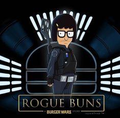 Rogue Buns - Star Wars, Bob's Burgers