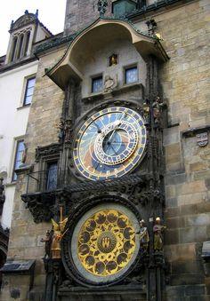 Reloj Astronómico de Praga, República Checa. SEP 2006.