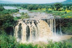 Lake Tana. Source of Blue Nile in Ethiopia.