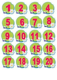 Frog Activities, Learning Activities, Numbers Preschool, Preschool Worksheets, Kindergarten Learning, Early Learning, School Behavior Chart, Frog Theme Classroom, Activity Sheets For Kids